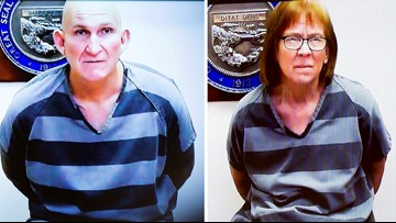 Former fugitive couple plead not guilty to Tucson murder