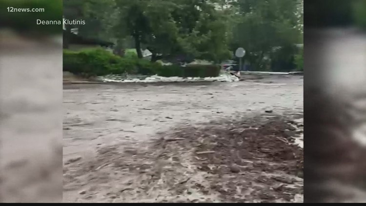 Flagstaff residents face flooding from Museum Fire burn scar following monsoon rain