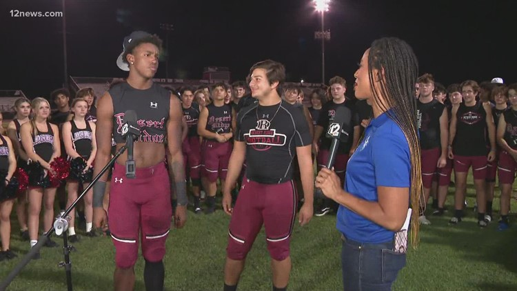 Desert Ridge: Angelo Paffumi and Lance Holtzclaw post-game interview