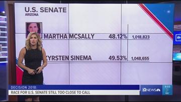 Sinema takes 30K-vote lead over McSally in Arizona Senate race