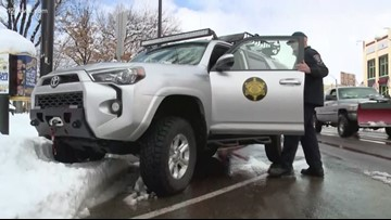 Prescott posse members helping people deal with hazardous snow conditions