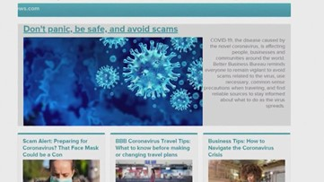 Here are the coronavirus-related scams you should keep an eye out for