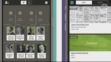 Genealogy apps fill in your family tree