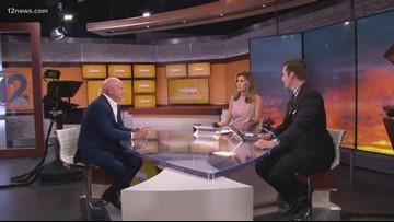 Arizona Senate candidate Mark Kelly stops by Studio 12A