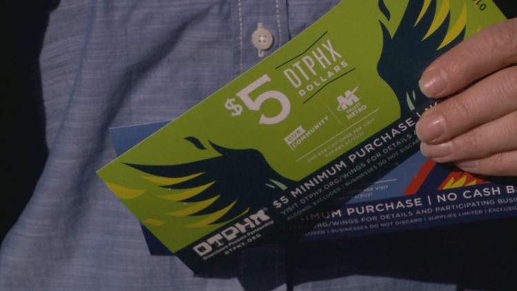 How to support downtown Phoenix businesses and get $5 off