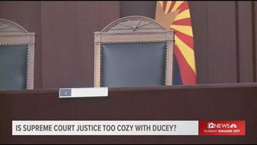 Is Supreme Court justice too close to Ducey?