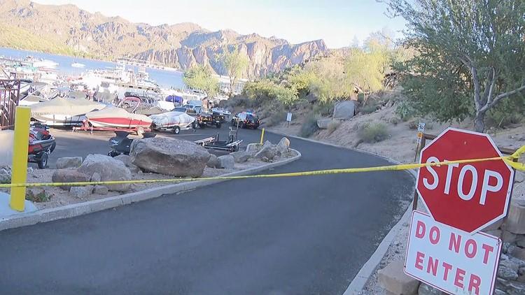 Man dies after he was shot at Saguaro Lake