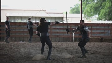 Arizonans train to become Medieval Knights for new Medieval Times