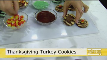 Thanksgving Turkey Cookie