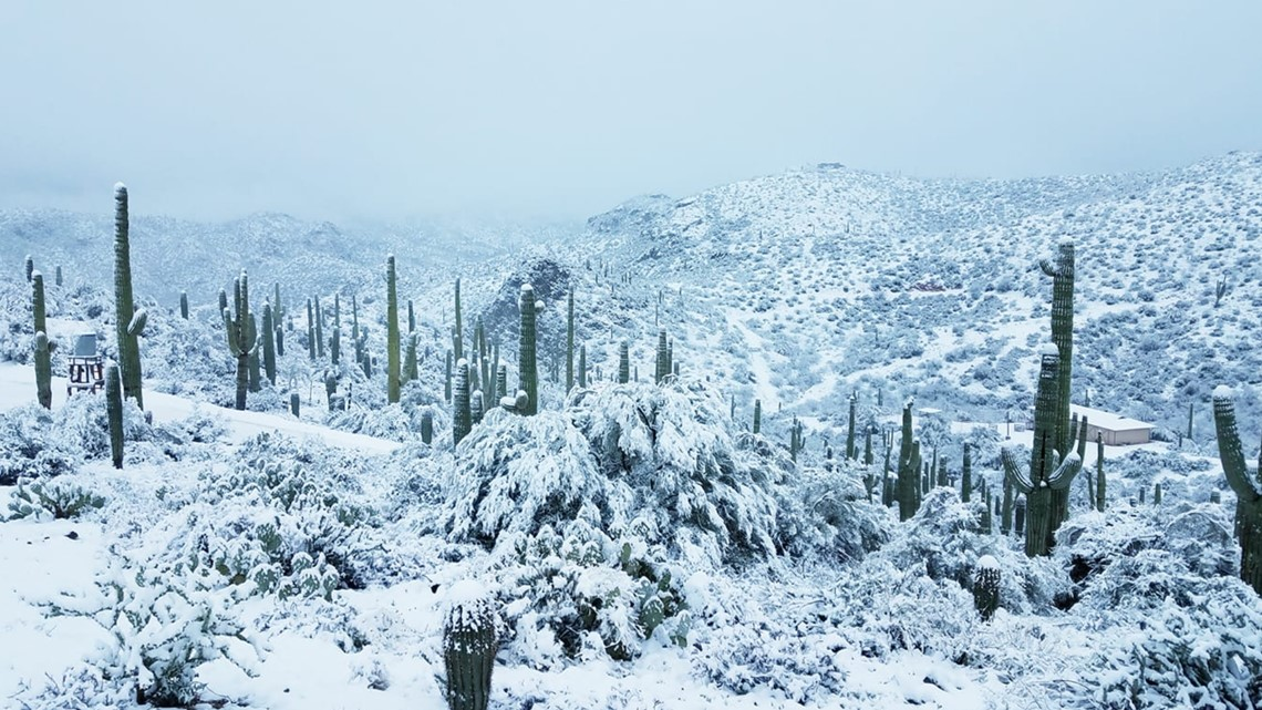 How the Arizona winter storm will develop overnight into Friday morning
