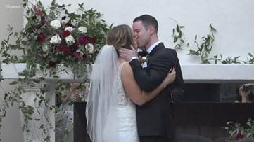 Valley couples tie the knot to celebrate Valentine's Day