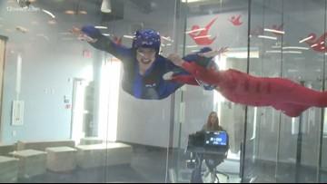 Krystle Henderson defies gravity at iFly in Scottsdale