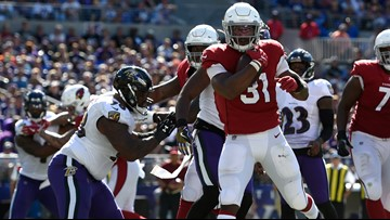 Cardinals fall to Ravens in Baltimore 23-17