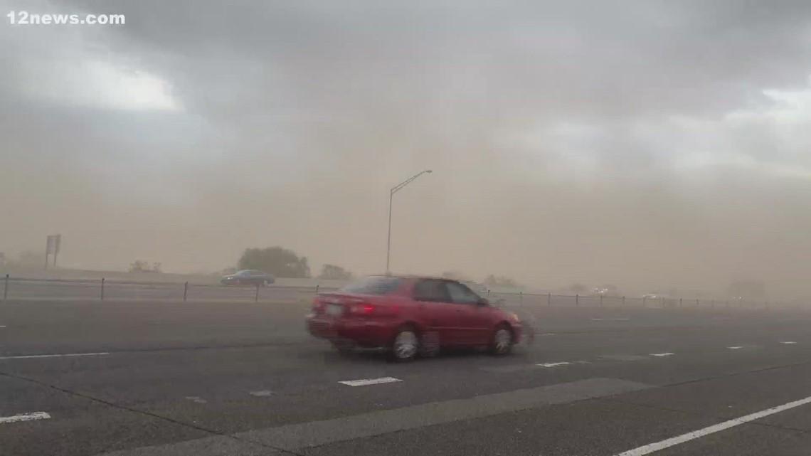 Queen Creek dust storm
