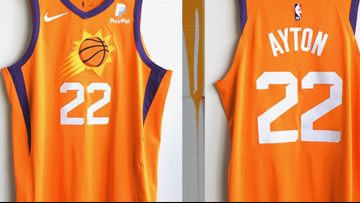 Phoenix Suns unveil new orange alternate jersey
