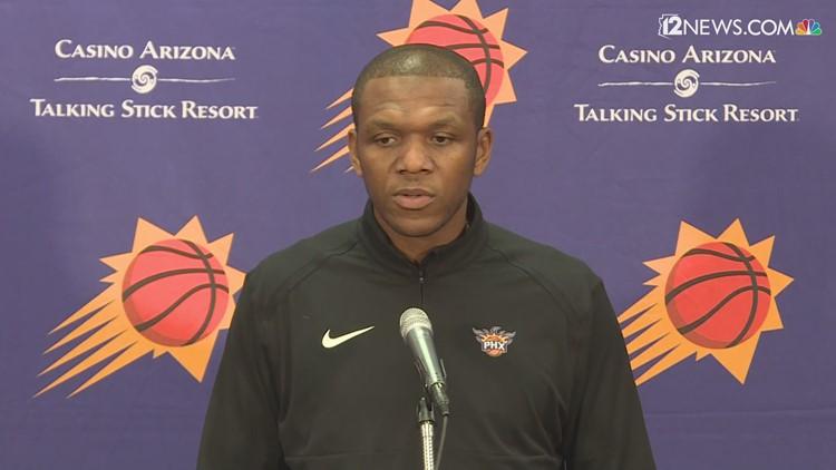 Suns GM James Jones discusses future of franchise