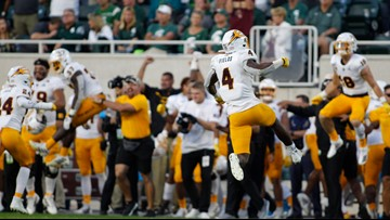 Pac-12 says refs missed penalty on ASU at end of Michigan State upset