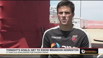 Get to know Brandon Kenniston, Phoenix Rising's 17-year-old goalkeeper