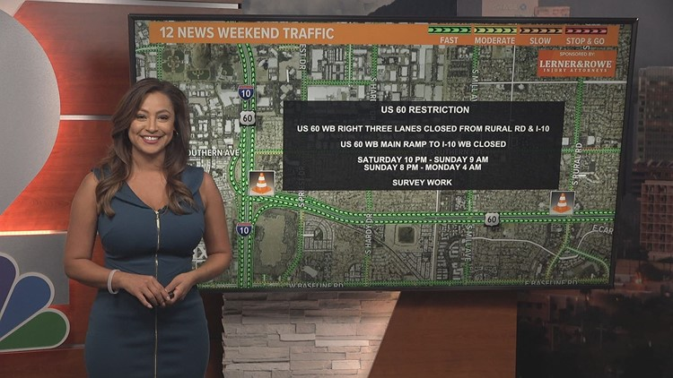Weekend traffic report for March 26 - March 29