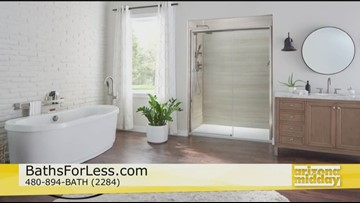 Bath For Less providing new bathrooms for Veterans