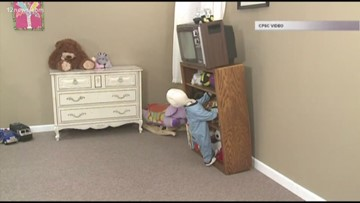 How to protect your child from furniture tipping over