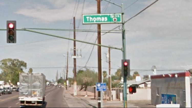 51st Avenue and Thomas Road. (Photo: Google Earth)
