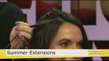 All about Extensions with Toni & Guy Salon