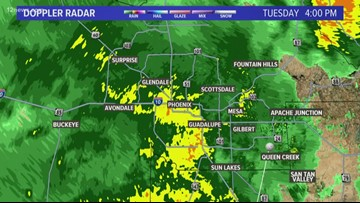 Rain storms hitting the Valley, snow expected in the High Country