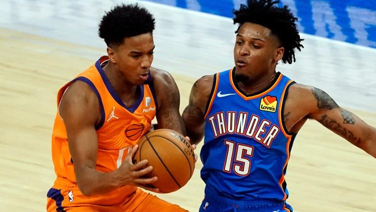 Phoenix Suns waive guard Ty-Shon Alexander