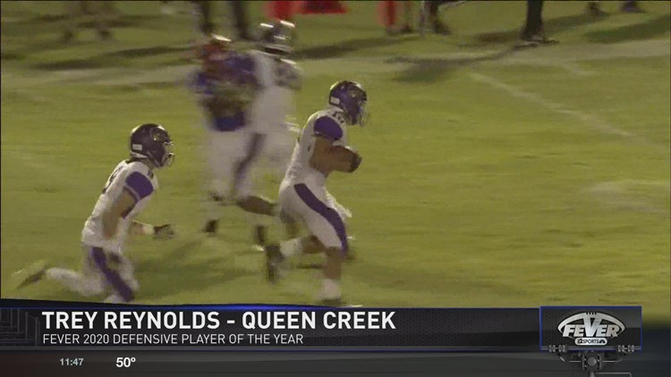 Friday Night Fever Defensive Player of the Year: Trey Reynolds, Queen Creek