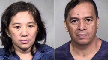 Couple pleads guilty for their roles in elderly man's heat-related death at Chandler assisted living facility