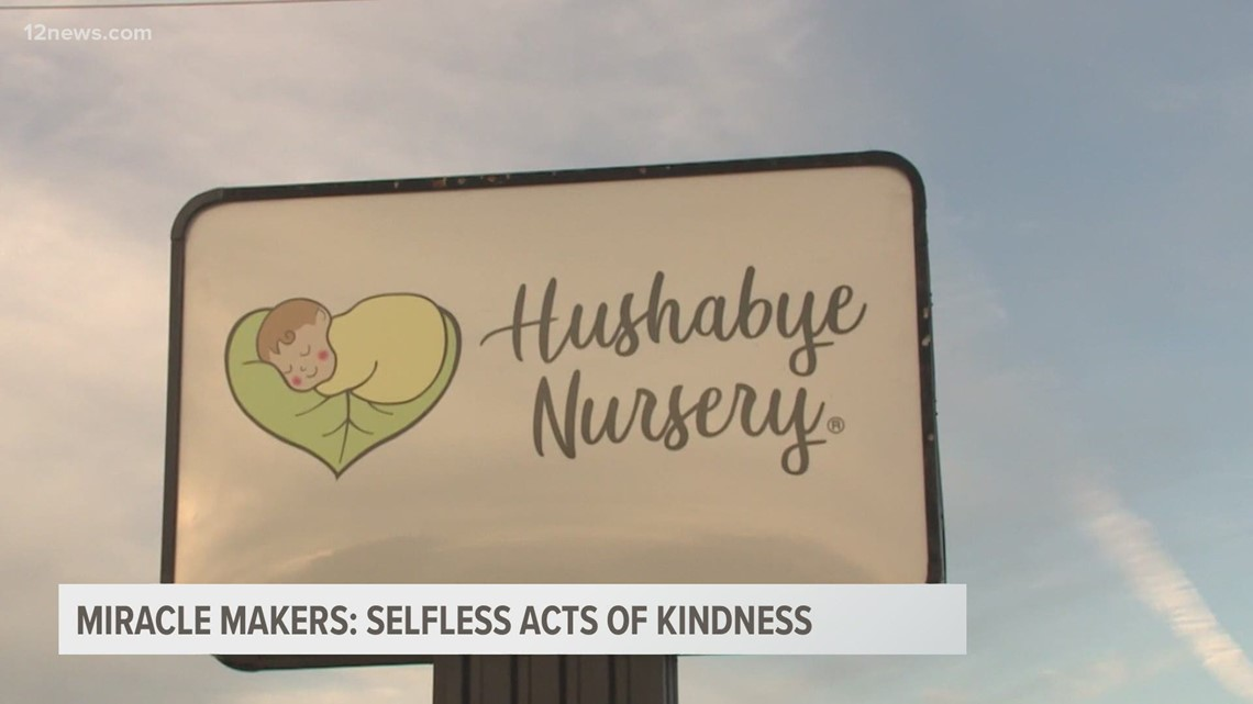 Miracle Makers: Hushabye Nursery clients show appreciation for founder