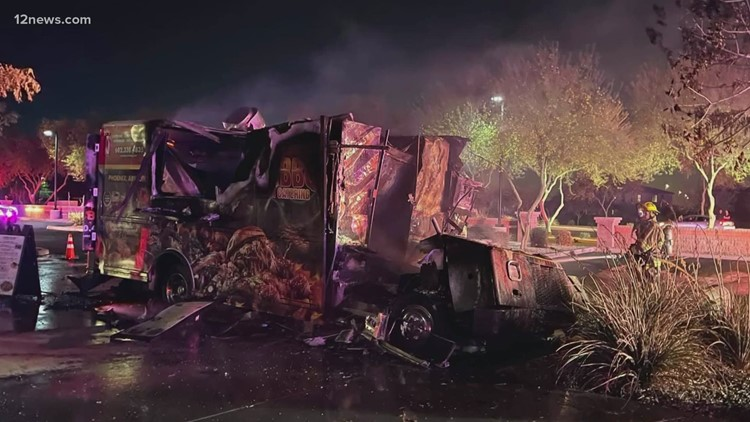 Valley couple survives food truck explosion, community rallies to raise money for medical expenses