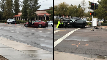 Husband and wife dead, 1 injured in Tempe crash
