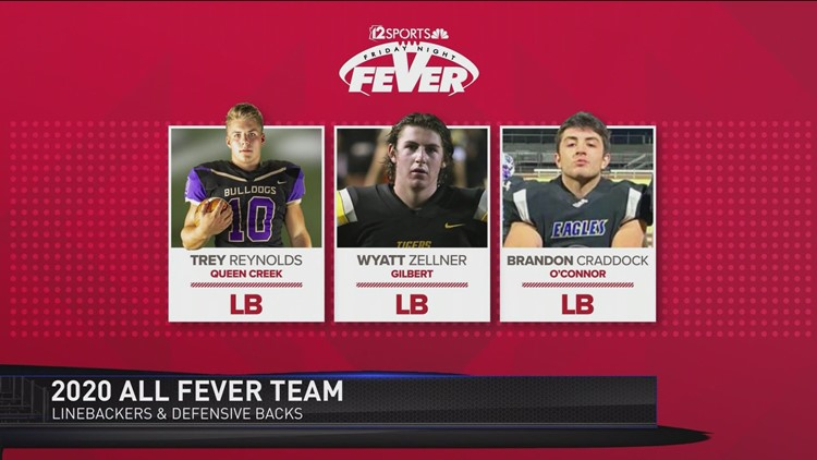 2020 All-Fever Team: Linebackers and Defensive Backs