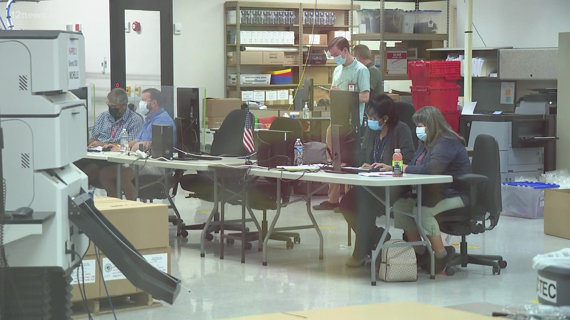 Maricopa County to vote on auditing election equipment