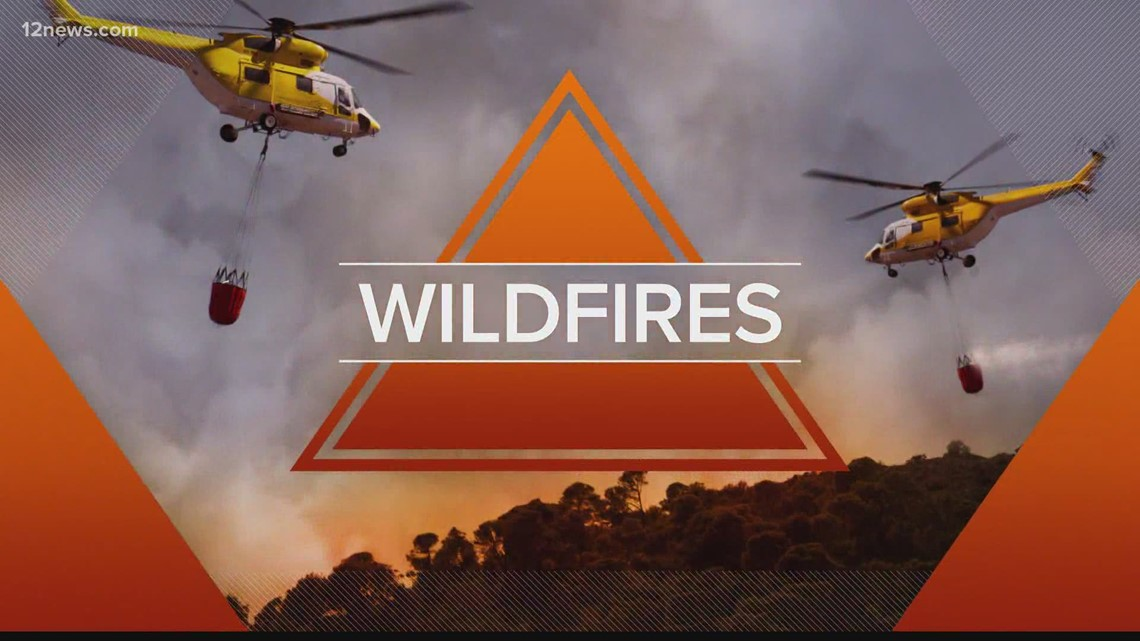 Arizona wildfire map: What's burning in the Grand Canyon State