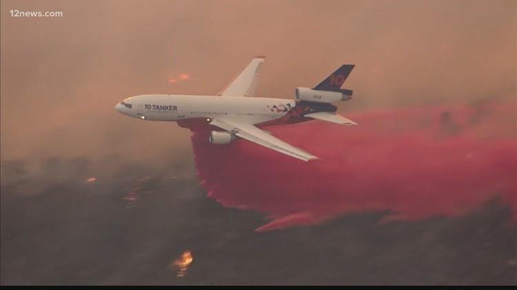 La actividad de los incendios forestales obliga al cierre de cuatro bosques nacionales