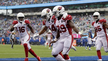 Cardinals win third straight, beat Giants 27-21