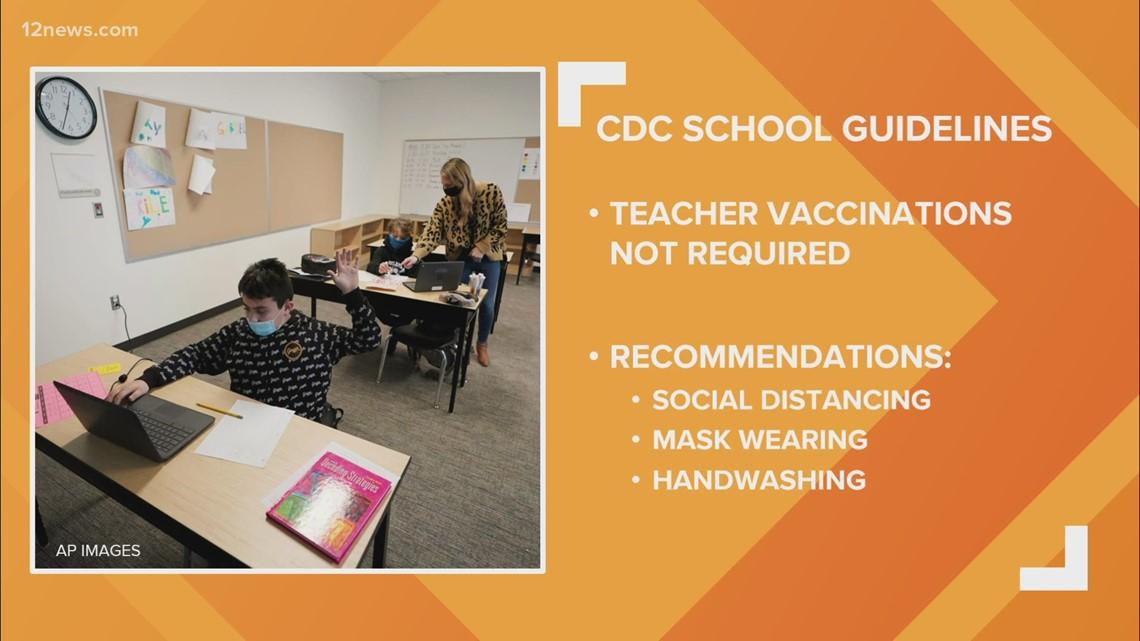 Tempe Union High School District educators getting COVID-19 vaccines