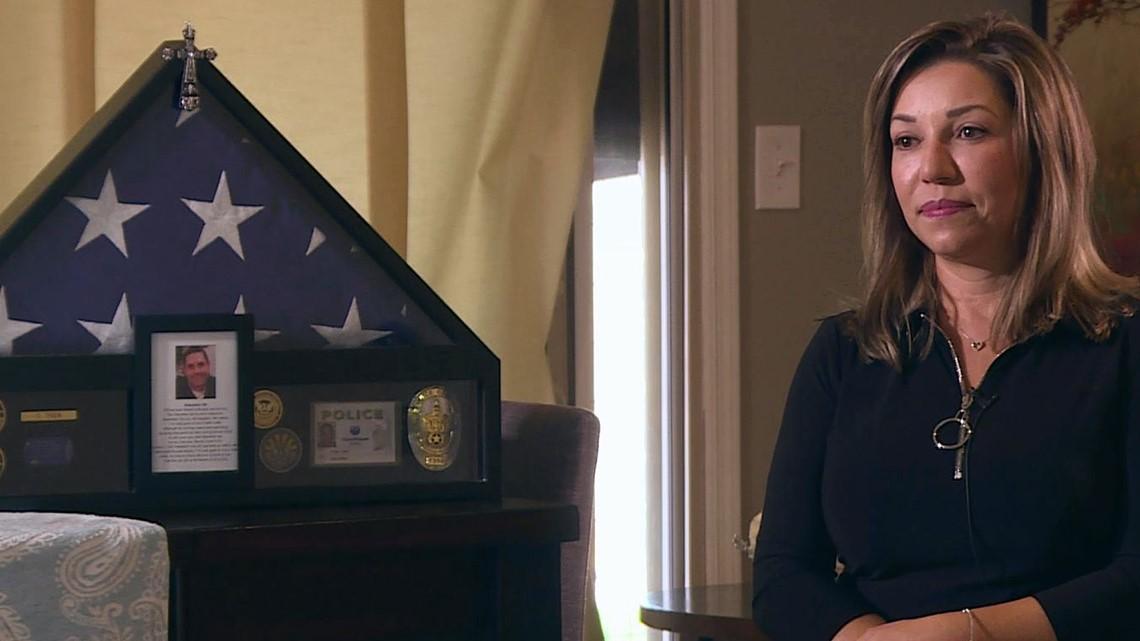 Rebecca Tiger wants Craig Tiger's department-issued gun, but Phoenix PD says no
