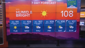Excessive heat warnings return to the Valley Tuesday-Wednesday