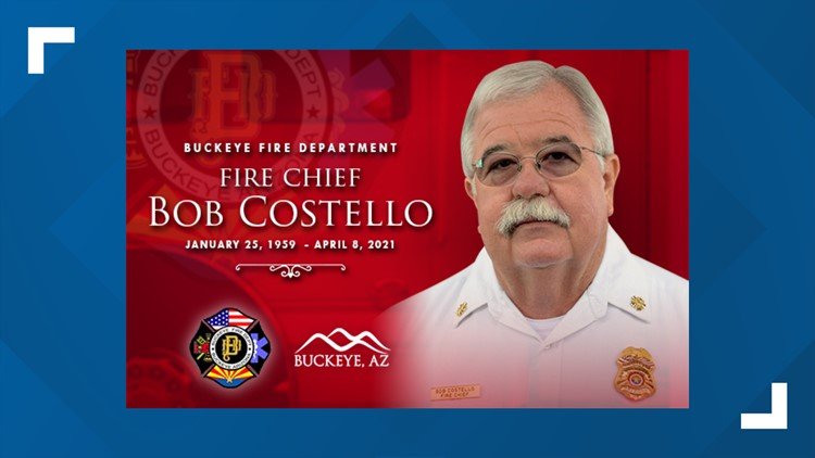 Family and friends gather to remember Buckeye Fire Chief Bob Costello