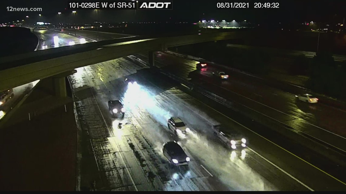 Officials urge safe driving as monsoon storms continue to pelt Arizona