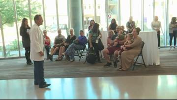 Cancer survivors gather to celebrate rare wins against glioblastoma
