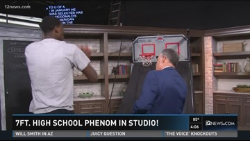Throwback: Deandre Ayton visiting 12 News before draft