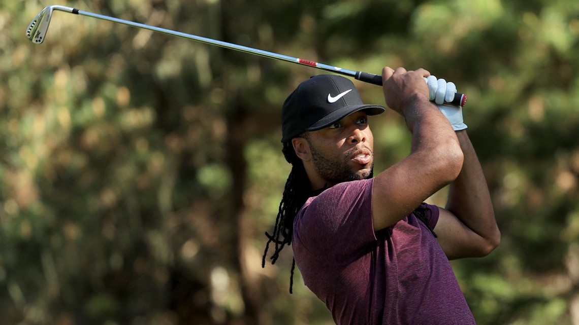 Larry Fitzgerald hits hole-in-one while playing with Barack Obama ... ed21b514f