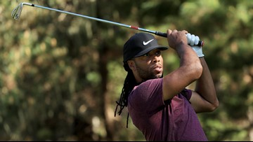 Larry Fitzgerald hits hole-in-one while playing with Barack Obama