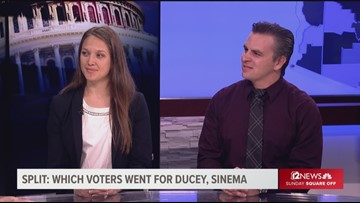 Meet the voters who split vote for Ducey and Sinema