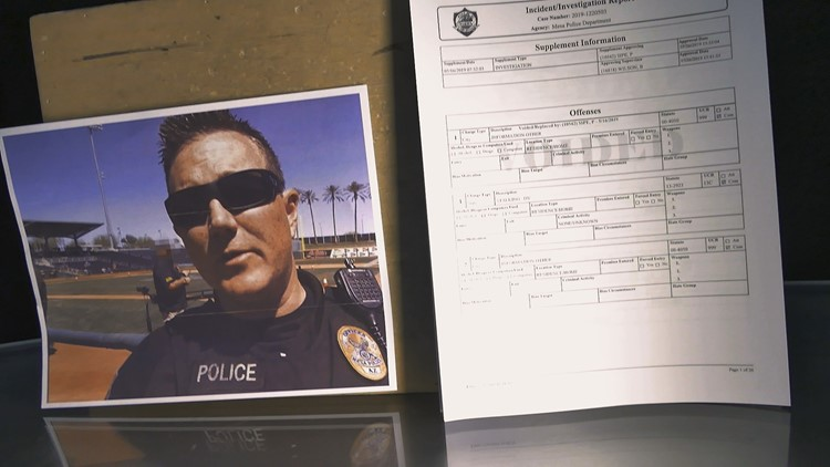The Mesa police department opened a criminal investigation against Scott Callender in May. The case was closed without charges. Callender is still under internal investigation.